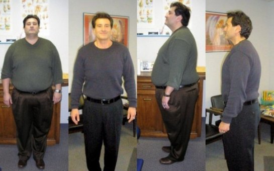 March 1 2008 340lbs  Feb 28, 2009 206 pounds